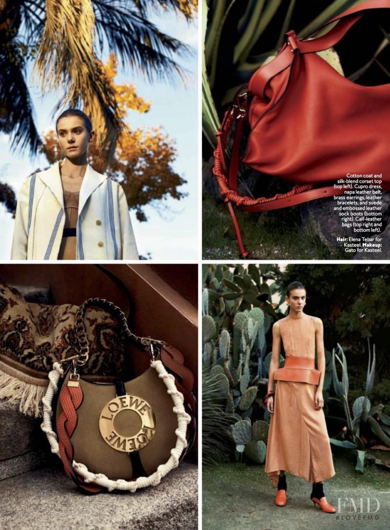 Phillipa Hemphrey featured in The Loewe Way, February 2017