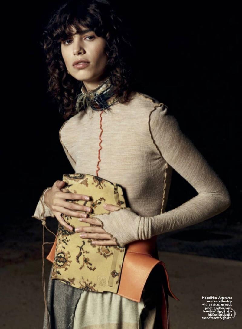 Mica Arganaraz featured in The Loewe Way, February 2017