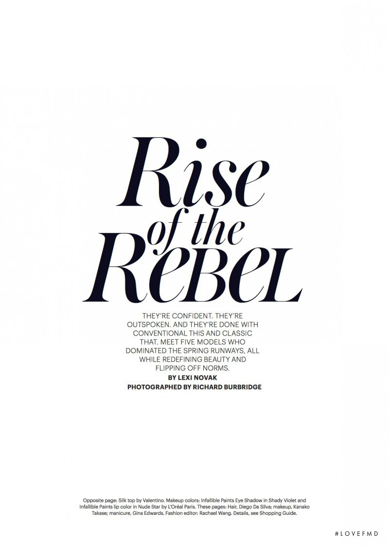 Rise of the Rebel, February 2017