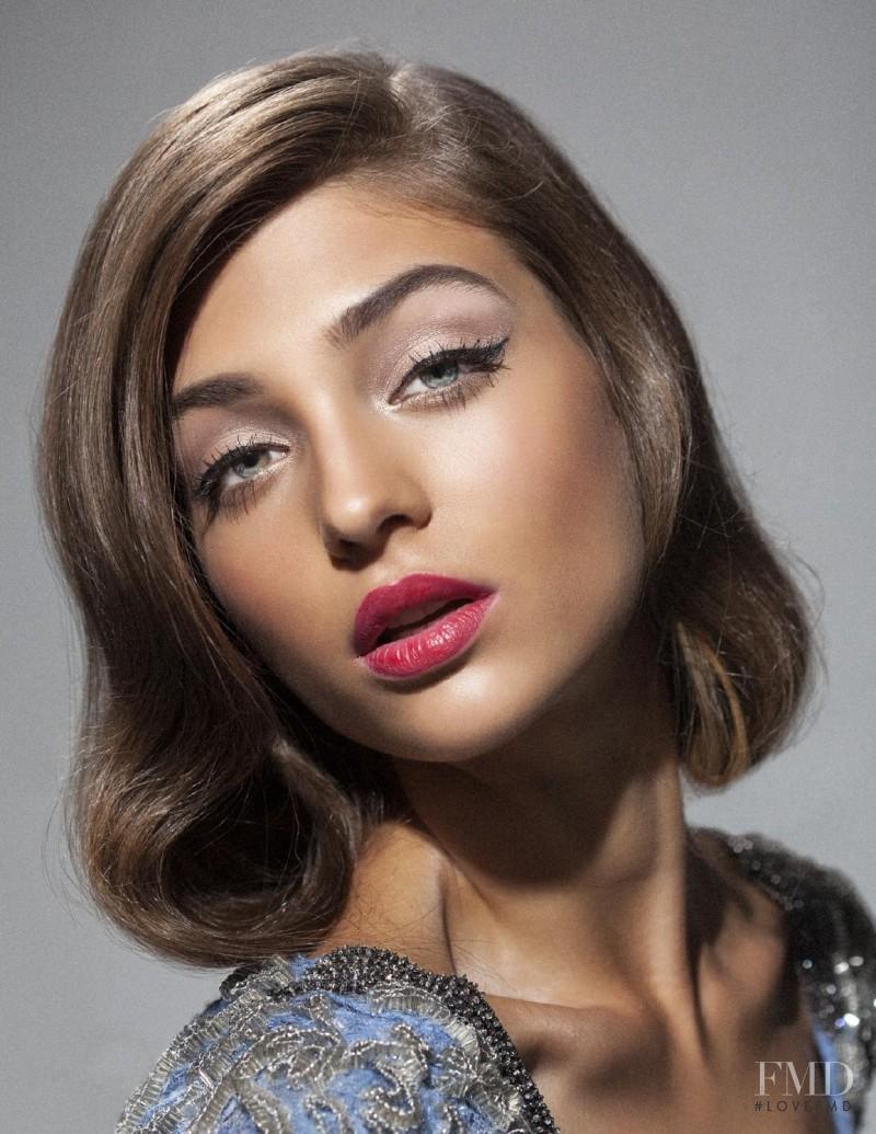 Magda Zalejska featured in beauty ERAS, September 2015