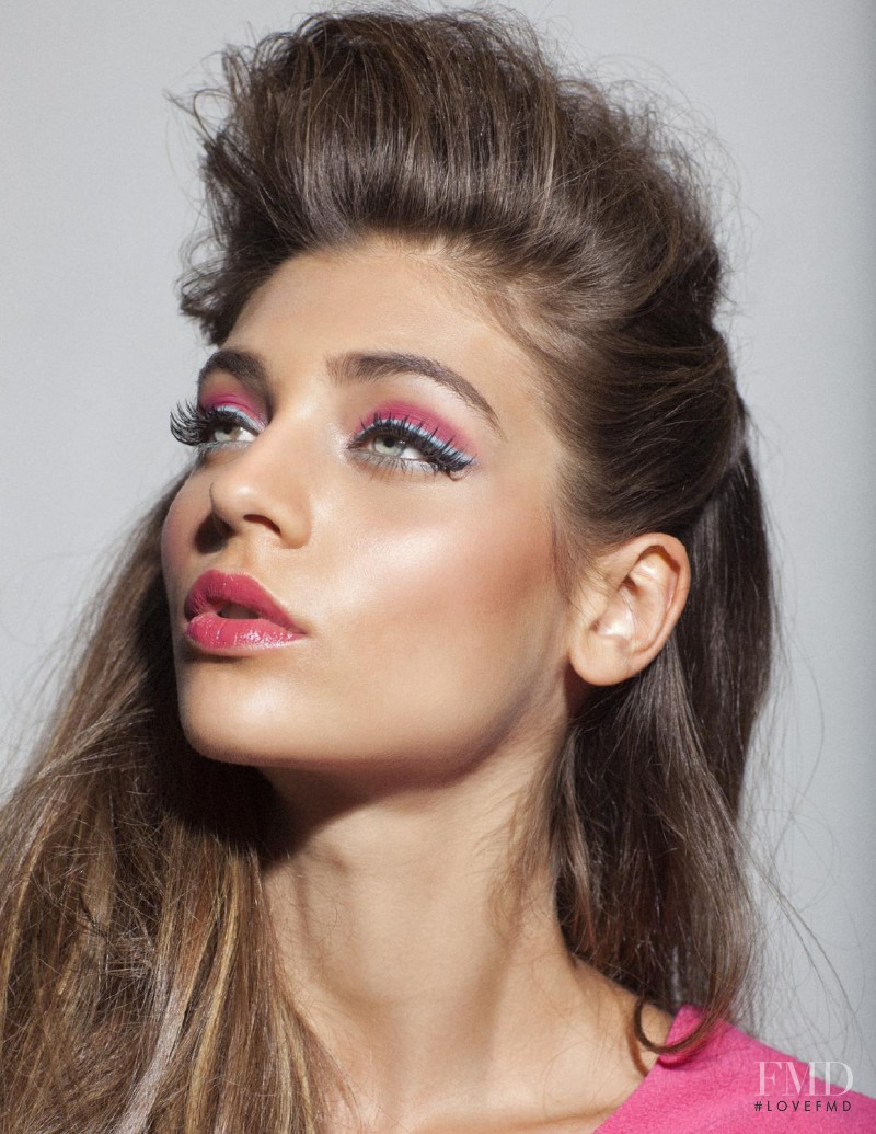 Magda Zalejska featured in beauty ERAS, September 2015