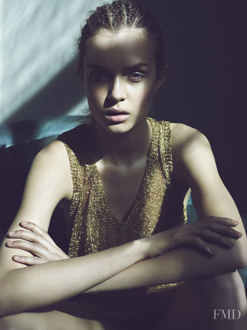 Josephine Skriver featured in  Blink Blink, June 2012