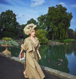 Emilia Clarke in Bloom