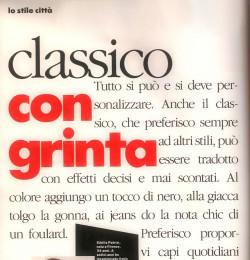 Classico Con Grinta