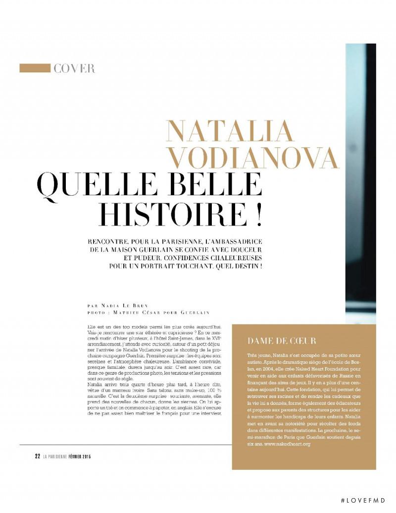 Quelle Belle Histoire!, February 2015