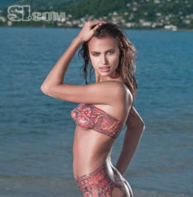 Body Paint with Irina Shayk