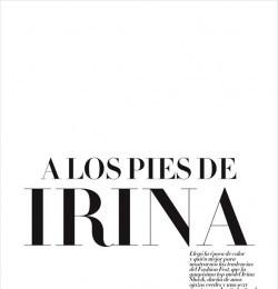 A Los Pies De Irina