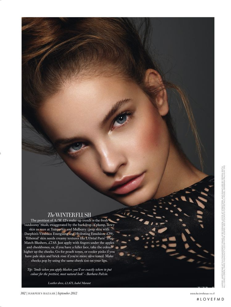 Barbara Palvin featured in New Season, New Rules, September 2012