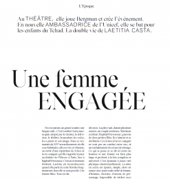 Une femme Engagee