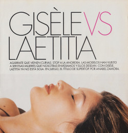 Gisele vs Laetitia