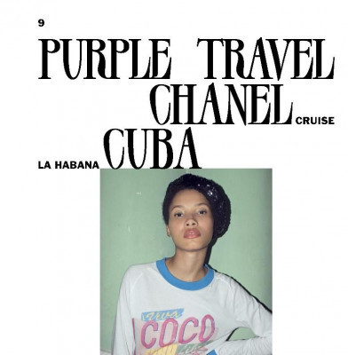 La Habana Cuba/Chanel Cruise - Purple Travel