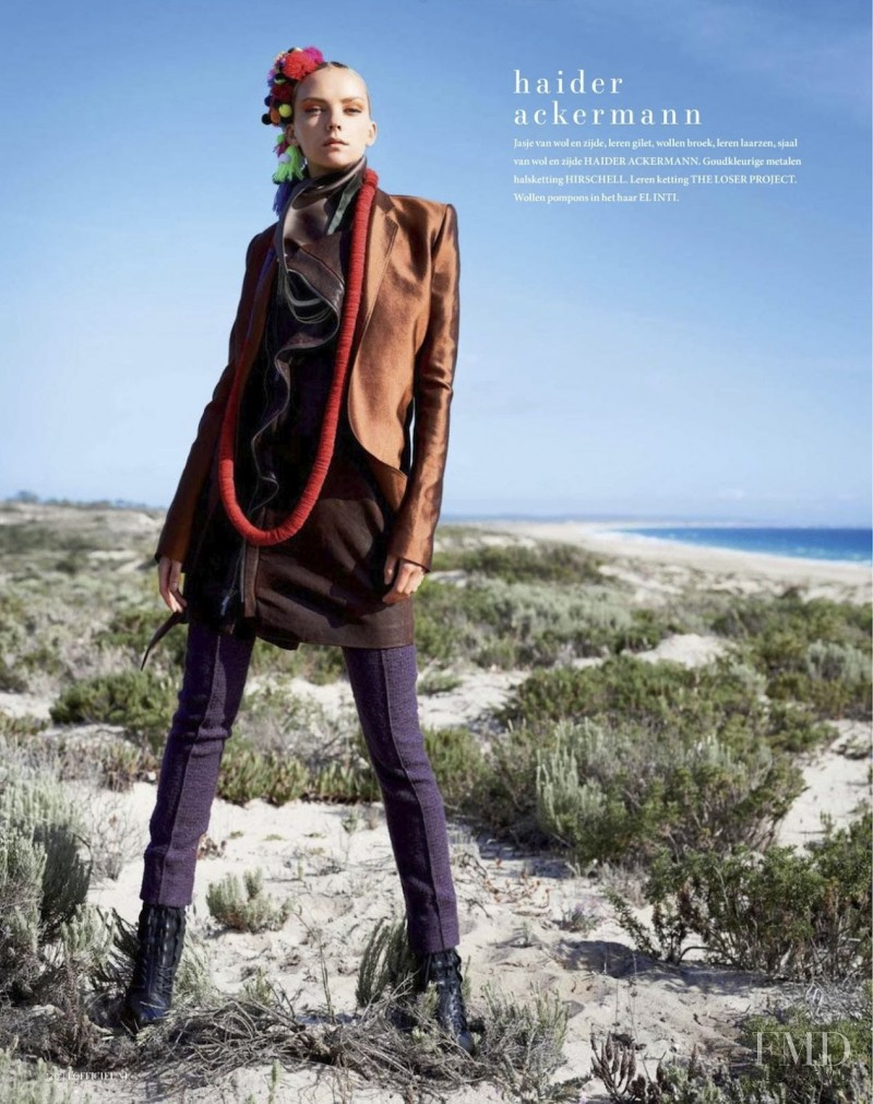 Heather Marks featured in Haute Hippie, August 2012