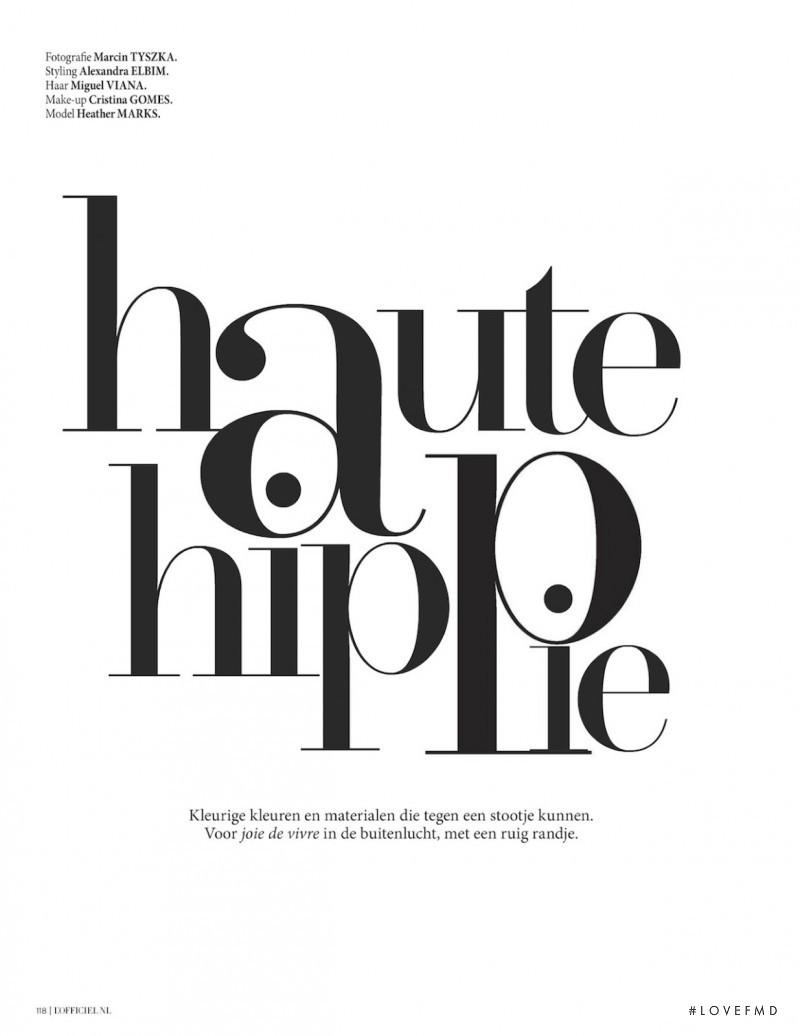 Haute Hippie, August 2012