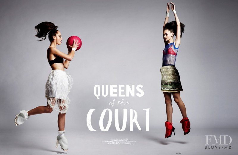 Marinet Matthee featured in Queens of the Court, May 2012