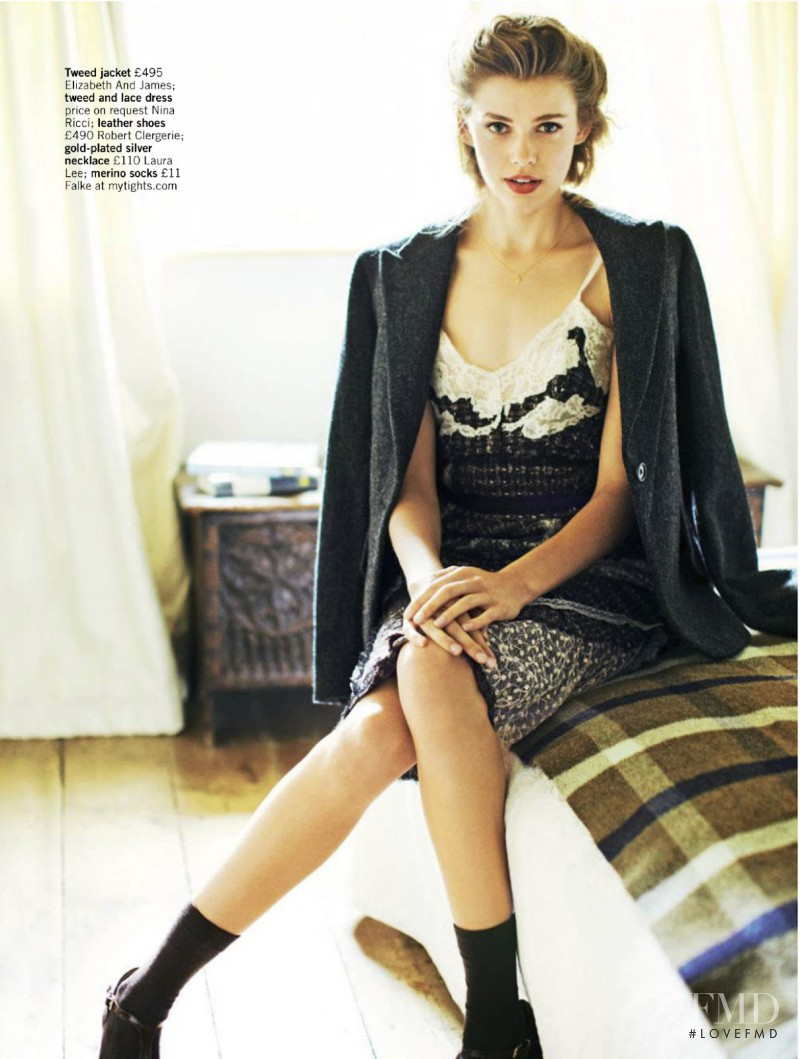 Victoria Lee featured in Tweed Comes Out To Play, November 2012