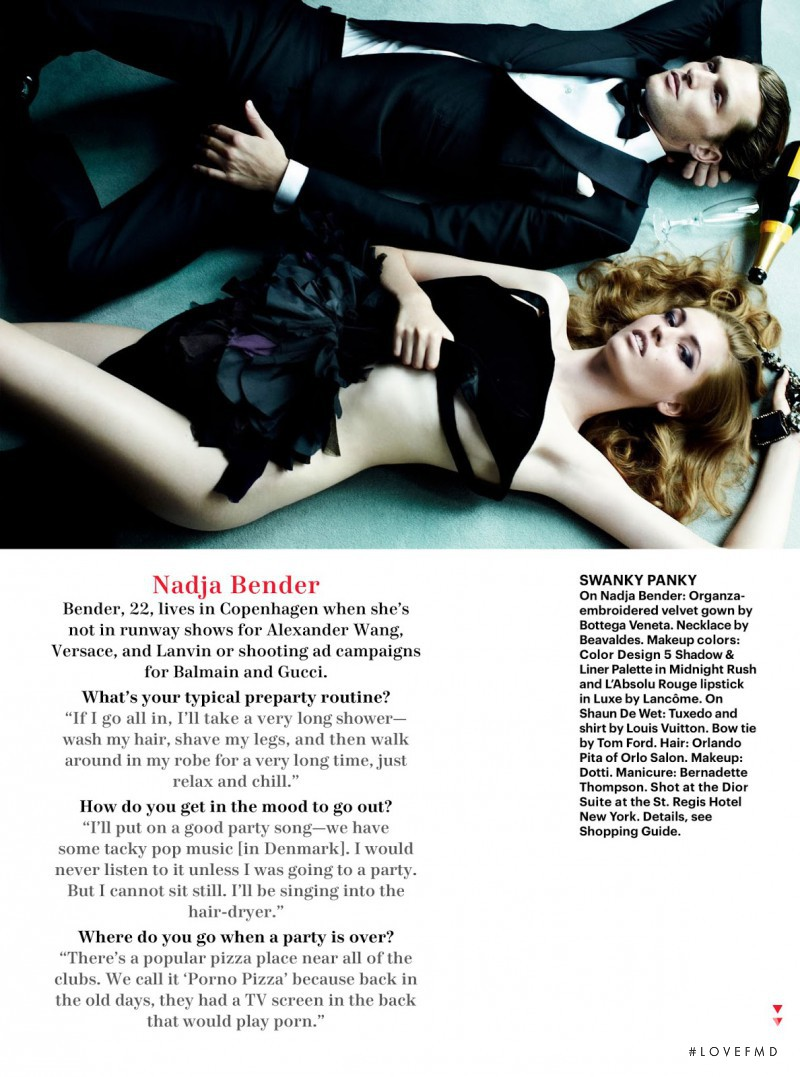 Nadja Bender featured in Life Of The Party, December 2012