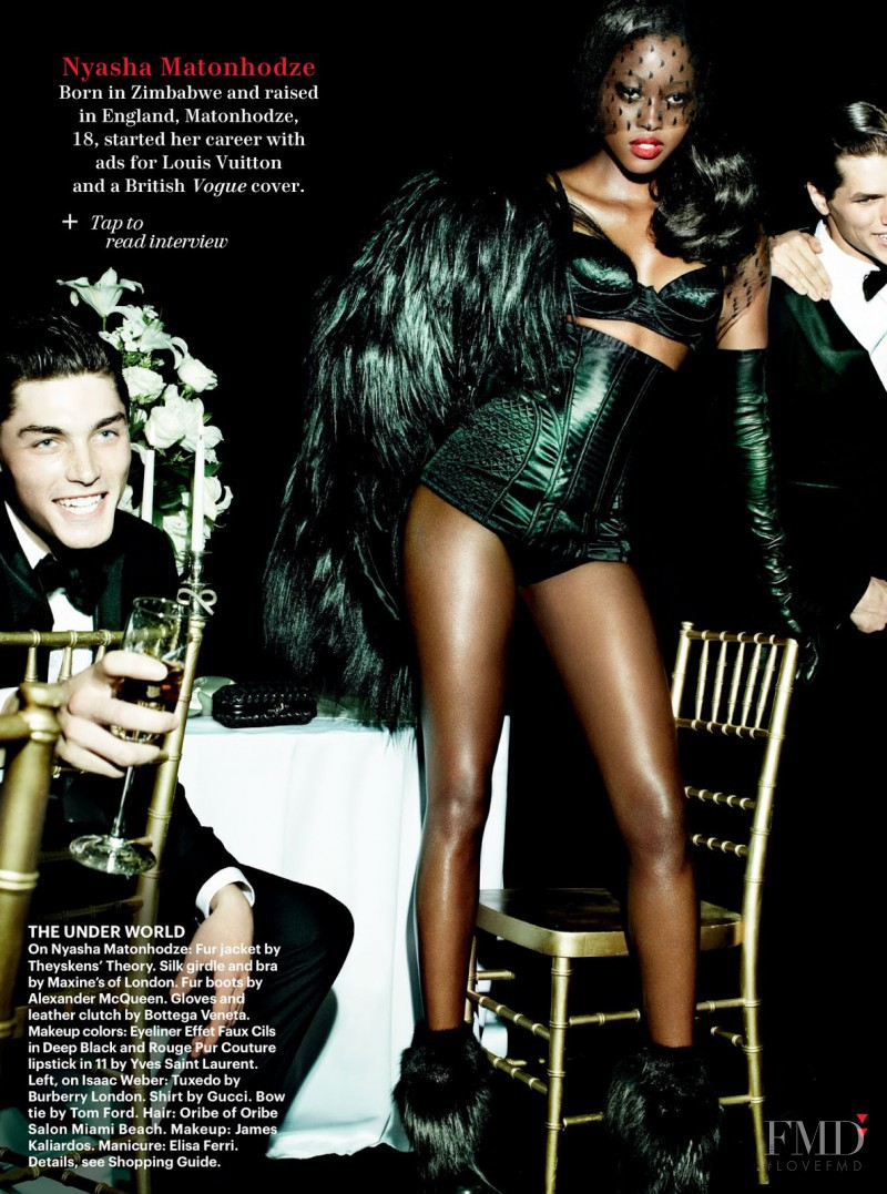Nyasha Matonhodze featured in Life Of The Party, December 2012