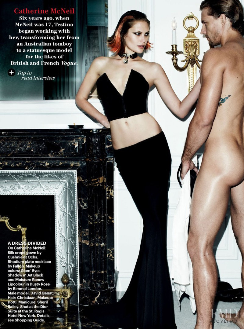 Catherine McNeil featured in Life Of The Party, December 2012