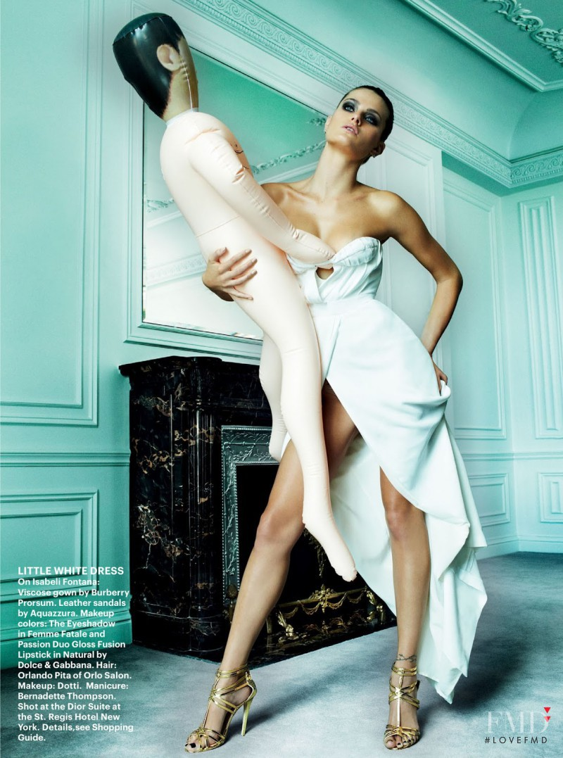 Isabeli Fontana featured in Life Of The Party, December 2012