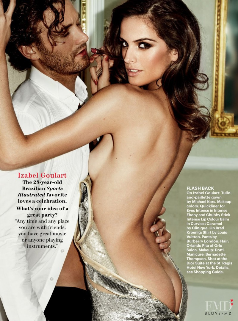 Izabel Goulart featured in Life Of The Party, December 2012
