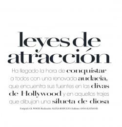 Leyes De Atraccion