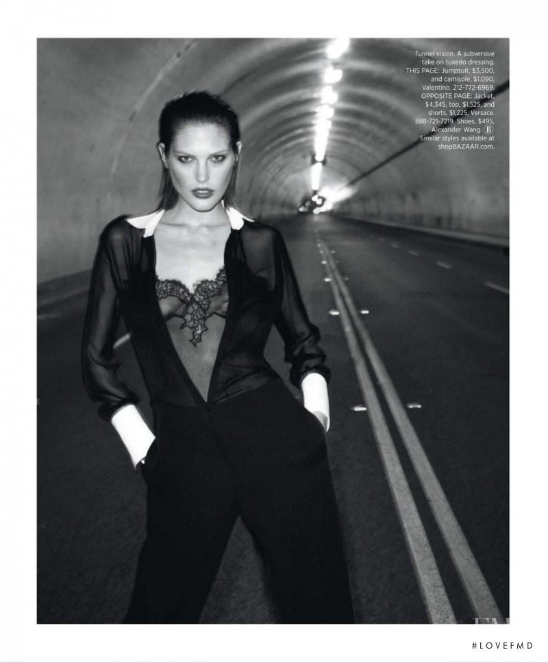 Catherine McNeil featured in Black Brings Sexy Back, March 2013