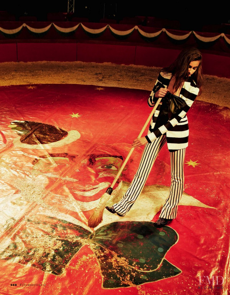 Taylor Hill featured in Circo Massimo, March 2013