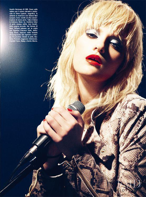 Amalie Hartmann featured in Beauty, March 2011