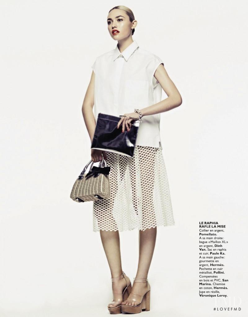 Cora Keegan featured in Envies De Nude, March 2013