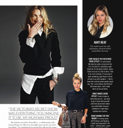 Wild At Hart In The Sunday Times Style With Jessica Hart