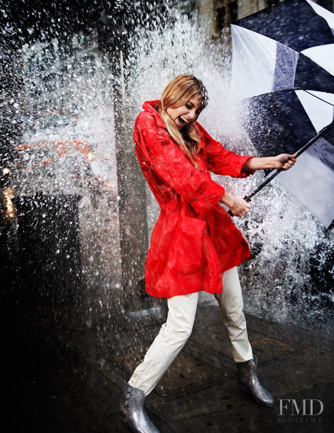 Elyse Saunders featured in Rain Girl, April 2011
