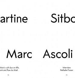 Martine Sitbon & Marc Ascoli