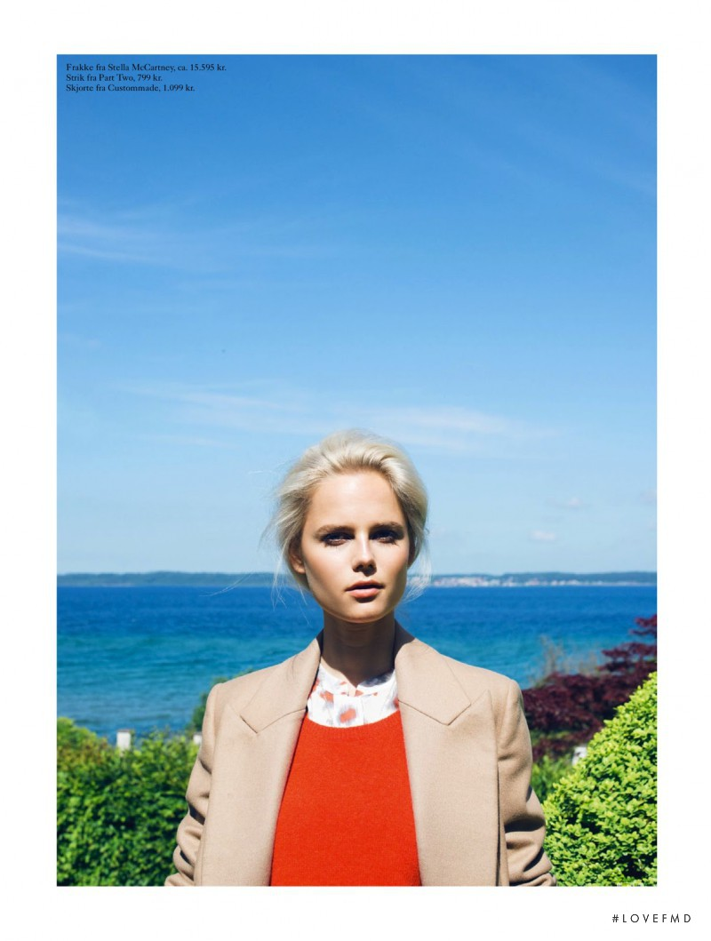 Josefine Nielsen featured in Lazy Days, August 2013