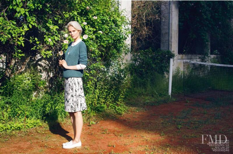 Josefine Nielsen featured in Lazy Days, August 2013
