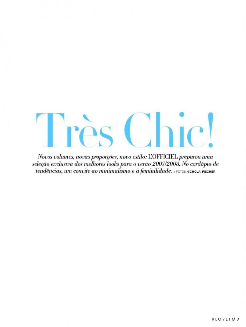 Tr�s Chic!, December 2007
