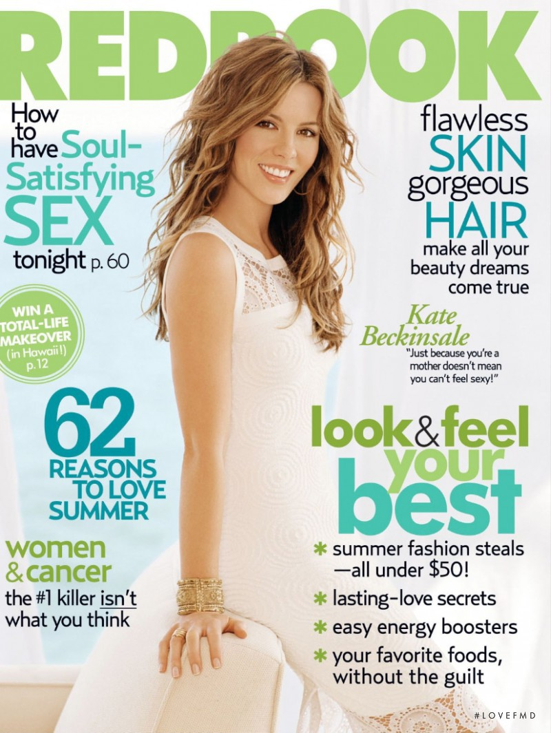 Kate Beckinsale featured on the Redbook cover from July 2006