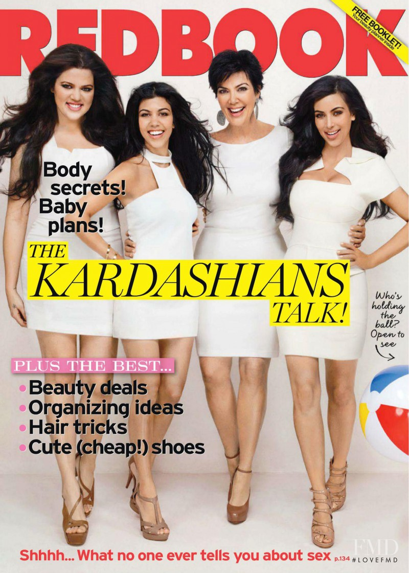 The Kardashians featured on the Redbook cover from May 2011