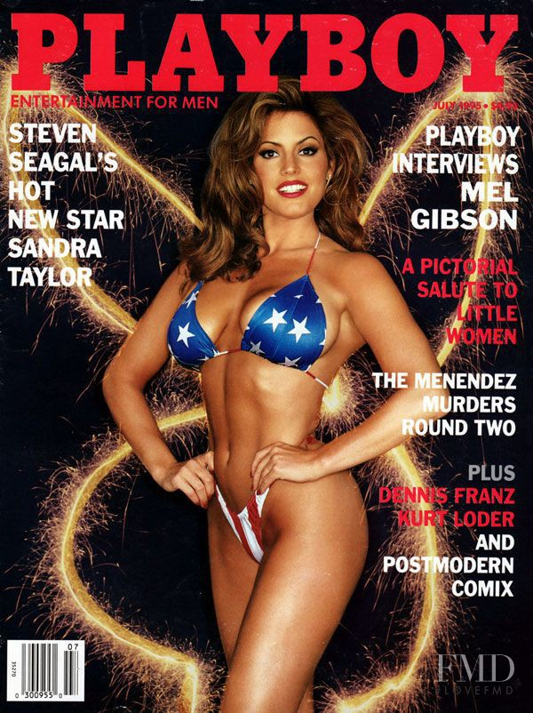 Cover of Playboy USA with Sandra Taylor, July 1995 (ID ...