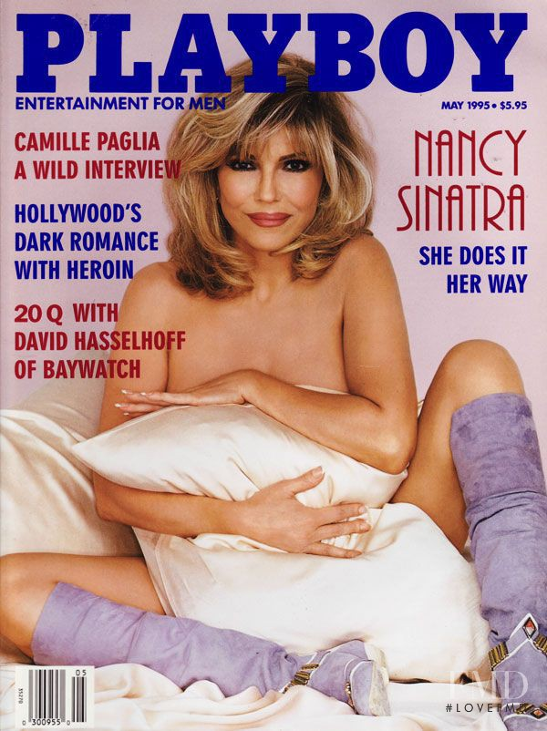 Cover of Playboy USA with Nancy Sinatra, May 1995 (ID ...