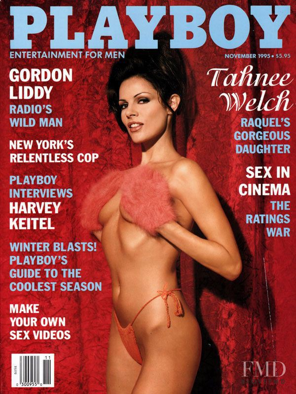 Tahnee Welch featured on the Playboy USA cover from November 1995