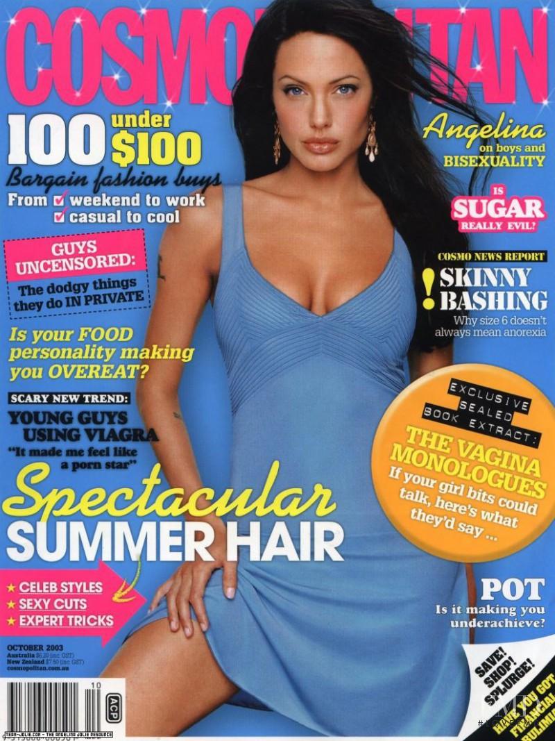 Jolie Magazine November 2017 Issue: Cover Of Cosmopolitan Australia With Angelina Jolie