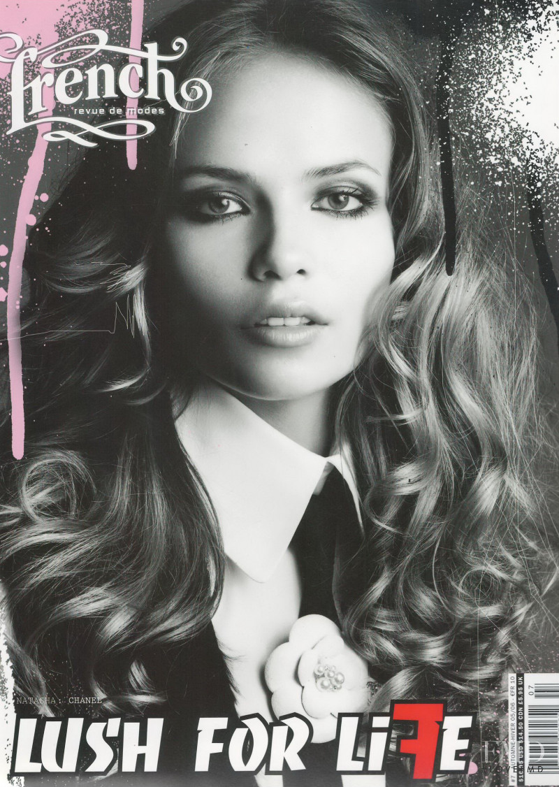 Natasha Poly featured on the French Revue De Modes cover from September 2005