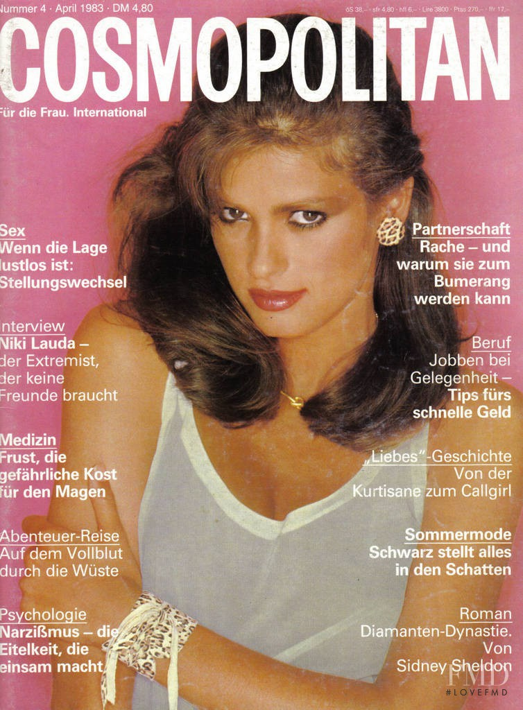 cover of cosmopolitan germany with gia marie carangi april 1983 id 5496 magazines the fmd. Black Bedroom Furniture Sets. Home Design Ideas