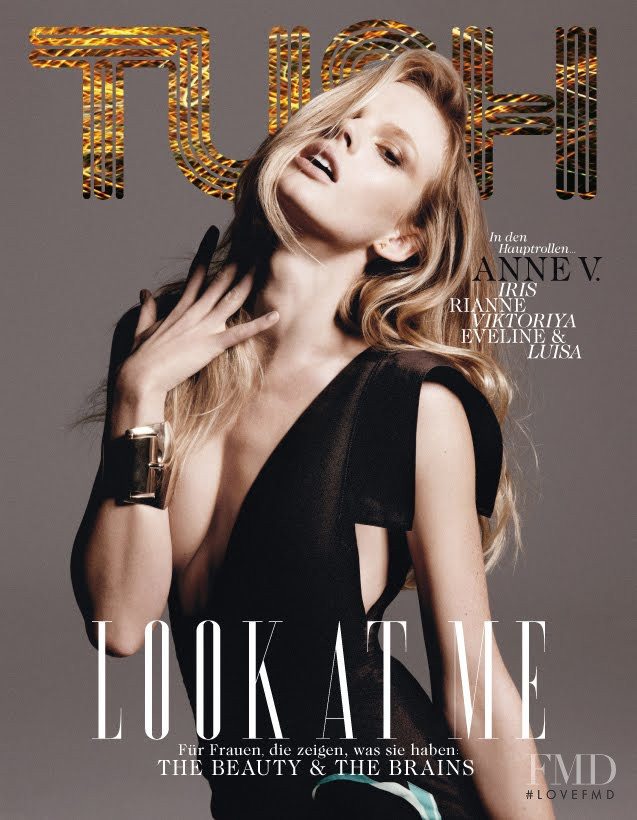 Anne Vyalitsyna featured on the TUSH  cover from February 2011