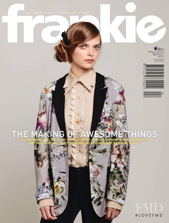 Solange featured on the Frankie magazine cover from June 2011