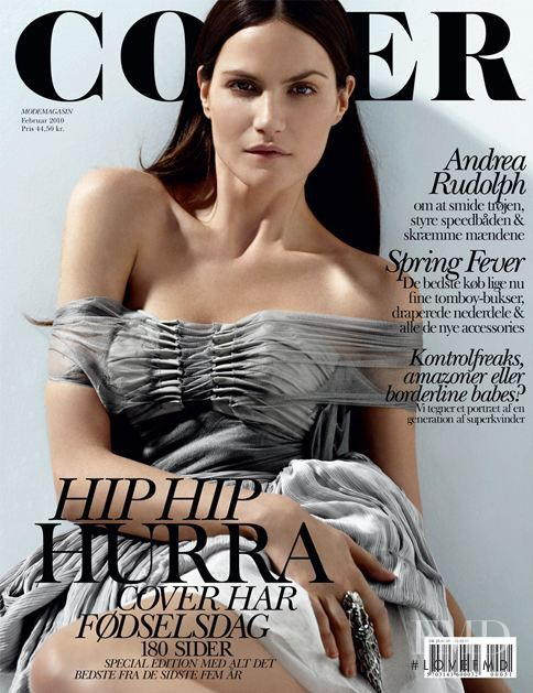 Missy Rayder featured on the Cover cover from February 2010