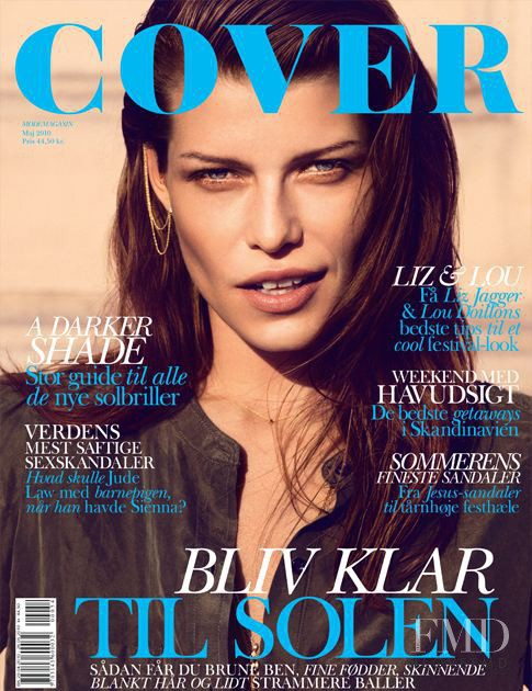 Louise Pedersen featured on the Cover cover from May 2010
