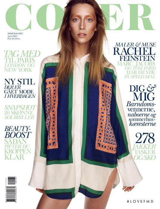 Alana Zimmer featured on the Cover cover from April 2011
