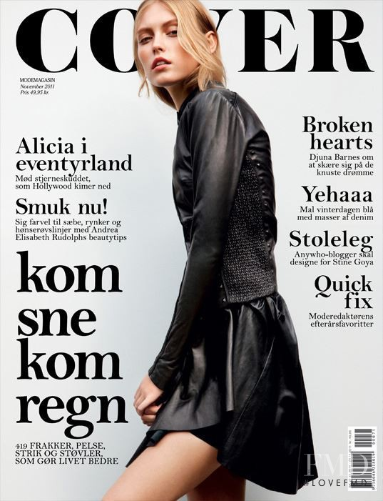 Lucia Jonova featured on the Cover cover from November 2011