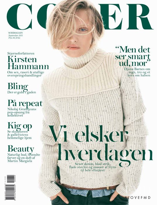 Amanda Norgaard featured on the Cover cover from September 2011